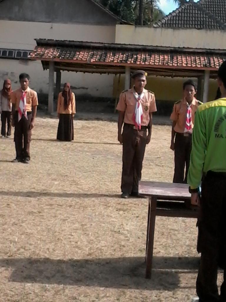 kegiatan upacara serah terima jabatan pramuka DA 31/10/2013